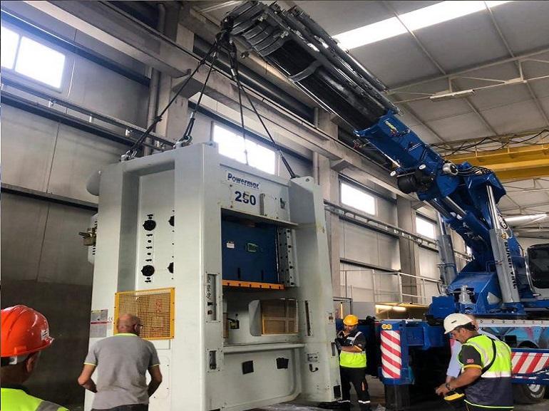 POWERMAC 250 Ton