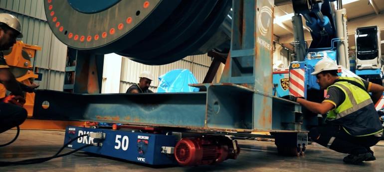 Ar-Ge Çalışmalarımızın Eseri Robot Taşıyıcı BKR-50 İş Başında